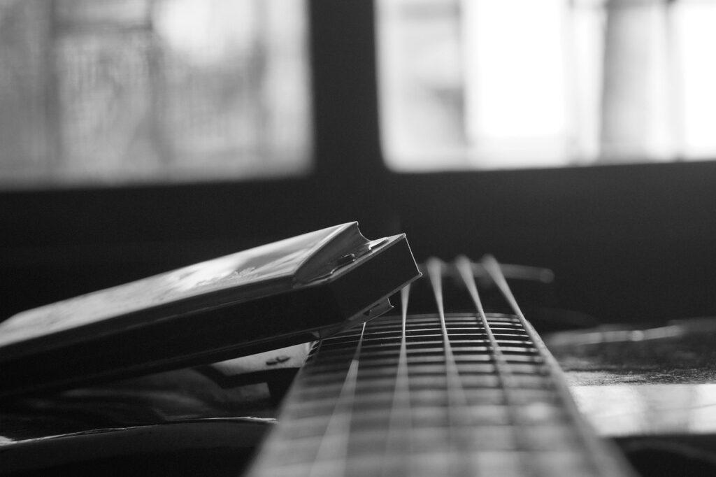 ギターとハーモニカ