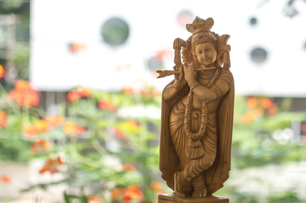 ヒンドゥー教クリシュナ像