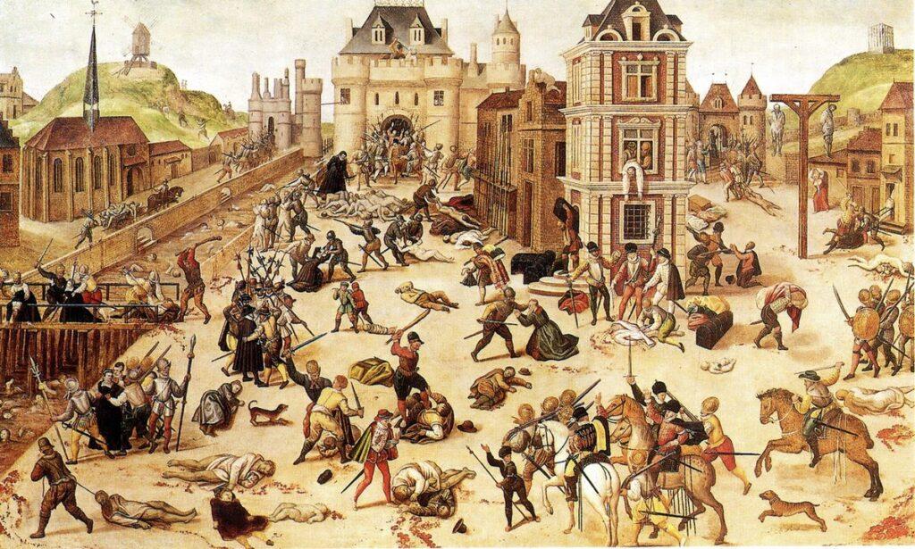 フランソワ・デュボア「サン・バルテルミの虐殺」